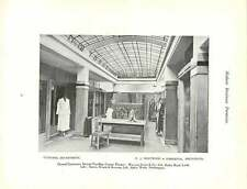 1923 Premises Austin Reed Leeds Clothing Department And First Floor Waiting-room