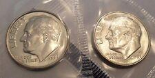 1997 P & D Roosevelt Dime Set (2 Coins) *MINT CELLO*   **FREE SHIPPING**