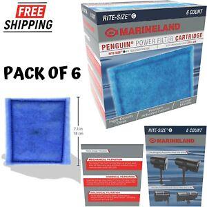Penguin Power Filter Cartridges Rite Size C 275 375 Aquarium Pet Fish Supplies