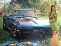 1966 Chevrolet Corvette Convert*Original*print*Ready to Display*car ad 1967 1965
