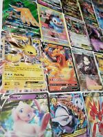 Pokemon Card Lot 100 OFFICIAL TCG Cards Ultra Rare Included - GX EX MEGA OR V!!!