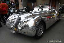 JAGUAR XK120 XK-120 XK140 XK-140 RD. ALUMINUM BROOKLANDS RACING WINDSHIELD KIT