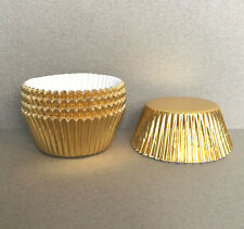 Gold Foil Cupcake Liners, Gold Cupcake Wrappers, Gold Baking Cups