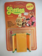 Rare Vintage 1980 The Mattel Littles Picnic Set #3560 New Old Stock Mint On Card