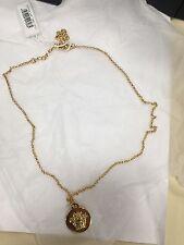 NEW VERSACE Medusa necklace Fashion Gold Tone Metal