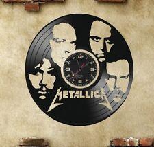 Orologio disco vinil clock orologio da parete  Metallica