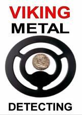 VIKING METAL DETECTING KEYRING -DETECTOR KEYRING,GREAT GIFT, IMAGE SIZE 5 x 3.5