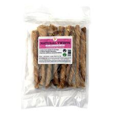 Jr100g Twisted Bladder 100% Dried Natural Beef Twists Dog Treat Chew Gluten Free