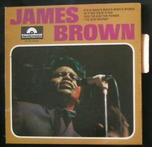 """JAMES BROWN """" IT'S A MAN'S MAN'S MAN'S WORLD """" EP FR n°27786/POLYDOR/1966/FUNK"""