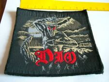 DIO – very rare old original 80s HOLY DIVER, UNCUT Patch!!!