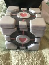 Valve Portal 2 Weighted Companion Cube Porcelain Ceramic Cookie Jar
