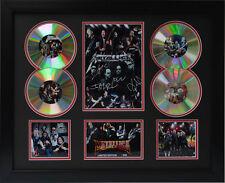 Metallica Signed Limited Edition Framed Memorabilia (B)