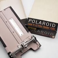 polaroid  land 4x5 film holder model 500