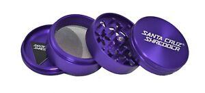 "Large 2.75"" Purple 4 Piece SANTA CRUZ SHREDDER Grinder Glossy Finish"