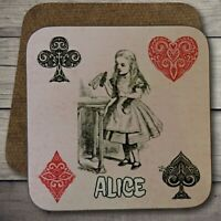 Alice in Wonderland Coaster, Vintage Alice Coaster, Alice in Wonderland Gift.