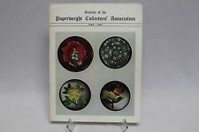 BULLETIN Of The PAPERWEIGHT Collectors SOCIETY 1966-67 PCA Book