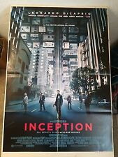 Manifesto Film INCEPTION C.Nolan (2010) Poster Movie Originale Cinema 100x140