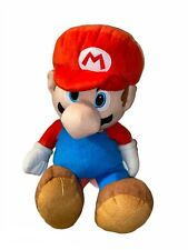 Mario PLUSH BACKPACK! SUPER MARIO BROS SOFT DOLL FIGURE BAG