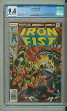 IRON FIST 15 CGC 9.4 XMEN WOLVERINE BYRNE NEW NONCIRCULATED CGC CASE MARVEL 1977