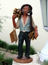 SANTON Statua artigianale  BUCHERON EN TERRE CUITE  CUCUZZA CALTAGIRONE