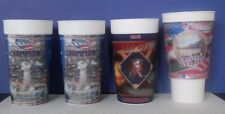 4 Boston Red Sox Fenway, New England Patriots, 3D Halogram Sport Cups 24 oz.