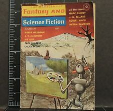 Fantasy and Science Fiction Pulp Digests March 1964 Features The Lost Leonardo