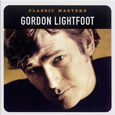 Gordon Lightfoot Classic Masters CD NEW 2003 Canadian Railroad Trilogy+