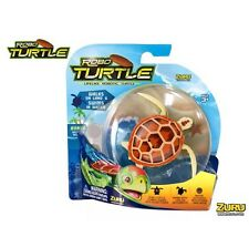 Zuru Robo Tartaruga realistici ROBOTIZZATO PET Swims cammina come un vero Turtle BROWN NEW KID