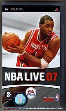PSP NBA Live 07, UK Pal, Brand New & Sony Factory Sealed