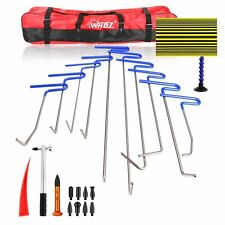 Professional PDR Tools Ding Dent Repair Rods Paintless Hail Removal Auto Kit B