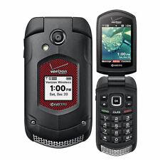 Kyocera E4520PTT Dura XV DuraXV Verizon Rugged Flip PTT Phone