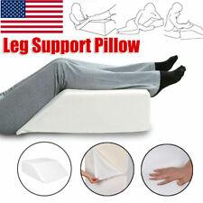 Elevating Leg Memory Foam Wedge Pillow Back Knee Bed Support Sleeping Cushion US