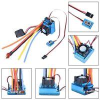 120A ESC Sensor Brushless Speed Controller for 1:8 1:10 RC Car/Truck Crawler Toy