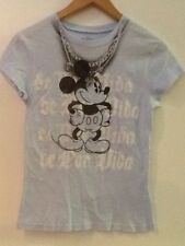 The Wonderful World of Disney Mickey Blue De Por Vida Shirt Juniors S (3/5)