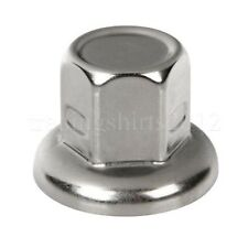 60pcs WHEEL NUT COVER STAINLESS STEEL CAPS BOLT 33mm SCANIA MERCEDES DAF VOLVO