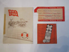 CUNARD WHITE STAR - QUEEN MARY - COLLECTILBES - NICE - TUB EEE