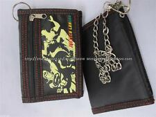 60% OFF! LICENSED MARVEL JUSTICE LEAGUE TRIFOLD CANVAS CHAIN WALLET BNEW $7.99+