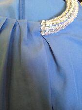 3.1 Phillip Lim For Target Sparkle Blue Party Dress Crystal Beading Medium