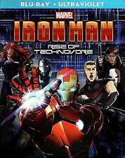 Marvel Iron Man Rise of Technovore NEW Bluray disc/case/cover only-no digital