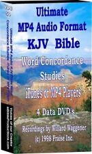 iPod/Itunes MP4 KJV Bible Audio Word Concordace 1400Hrs