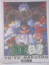 New Yu Yu Hakusho Ghost Files Box #3 Anime 3-DVD Eps 51-78 700 Minutes