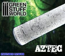 Rodillo Texturizado AZTECA - para peanas texturizadas Warhammer, Lagartos ...