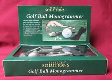 Gold Ball Monogrammer, by Perfect Solutions