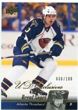10/11 UPPER DECK UD EXCLUSIVES #261 BRENT SOPEL 008/100 THRASHERS *46833