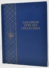 Canada Whitman Coin Album #9513 Canadian Type Set Collection, Hard To Find Album