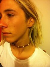 1 Choker Stretchie Necklace Unisex Wood Beads Southern SandStar Surf Jewelry