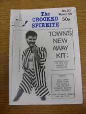 Mar-1990 Chesterfield: The Crooked Spireite  No.20 - Independent Football Magazi