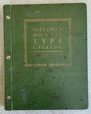 Vintage Specimen Book And Type Catalog - Neal, Stratford & Kerr (SF) - Circa 20s