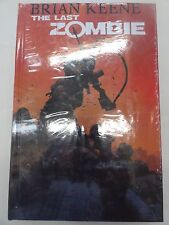THE LAST ZOMBIE BRIAN KEENE HARD COVER HARD COVER STILL WRAPPED