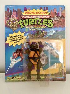 Teenage Mutant Ninja Turtles Rock N Roll Donatello MOC Unpunched MISB TMNT BNIB